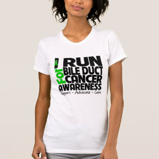 I Run For Bile Duct Cancer Awareness T-shirts