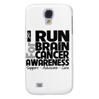 I Run For Brain Cancer Awareness Samsung Galaxy S4 Cases