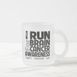 I Run For Brain Cancer Awareness Coffee Mug