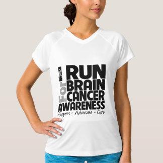 I Run For Brain Cancer Awareness T-Shirt