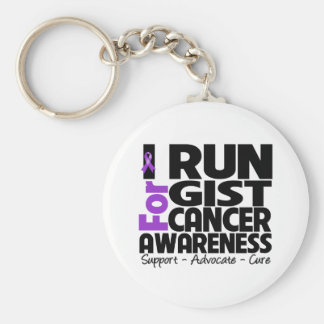 I Run For GIST Cancer Awareness Key Chains