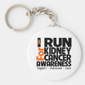 I Run For Kidney Cancer Awareness Keychains