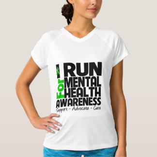 I Run For Mental Health Awareness Tees