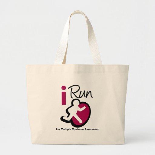 I Run For Multiple Myeloma Awareness Bags