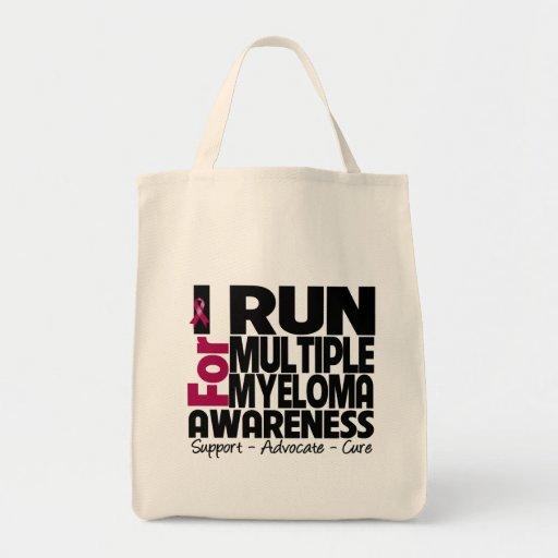 I Run For Multiple Myeloma Awareness Bag