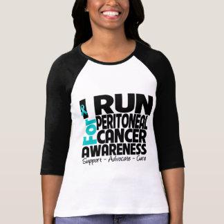 I Run For Peritoneal Cancer Awareness T Shirts
