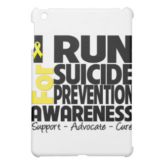I Run For Suicide Prevention Awareness iPad Mini Cover