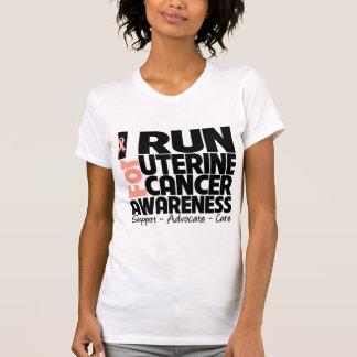I Run For Uterine Cancer Awareness Tanks