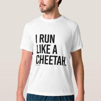I run like a cheetah -  .png T-Shirt