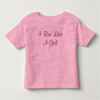 I Run Like A Girl Shirts