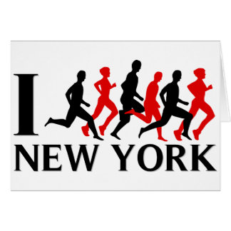 I RUN NEW YORK CARD