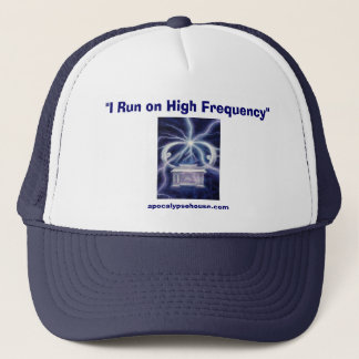 """I Run on High Frequency"" Trucker Hat"