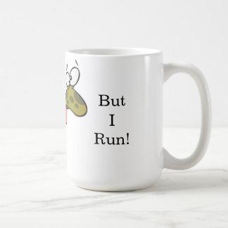 I run slower than a tortoise mug