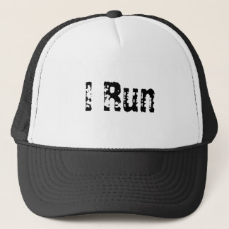 I Run Trucker Hat