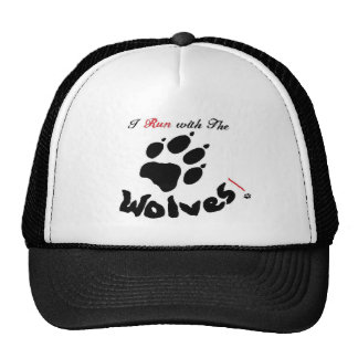 I run with the wolves Hat