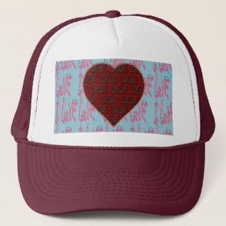 - I Ruv Ruv -SHECKSHE.COM-SheckShe* Heart- Trucker Hat
