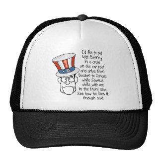 i s like to put mitt romney png trucker hat