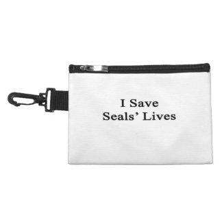 I Save Seals Lives Accessories Bag