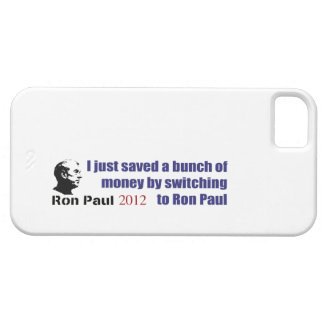 I Saved A Bunch Of Money Switching To Ron Paul Barely There iPhone 5 Case