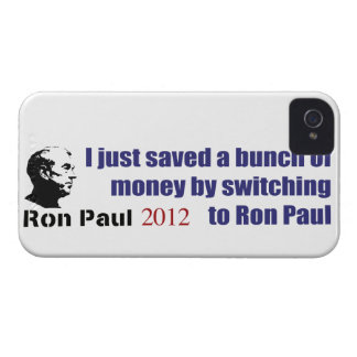 I Saved A Bunch Of Money Switching To Ron Paul iPhone 4 Case