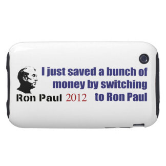 I Saved A Bunch Of Money Switching To Ron Paul Tough iPhone 3 Case