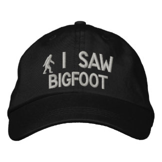 I saw Bigfoot Deluxe version Embroidered Baseball Caps