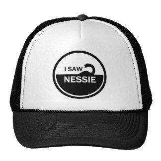 I SAW NESSIE - LOCH NESS MONSTER CAP