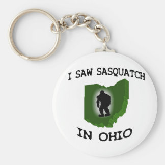 I Saw Sasquatch In Ohio Key Ring