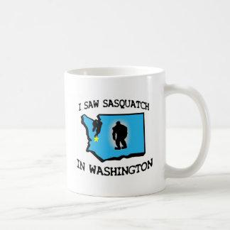I Saw Sasquatch In Washington Coffee Mug