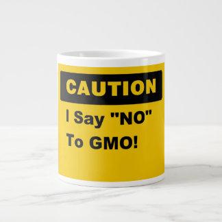 I Say No To GMO Jumbo Mug
