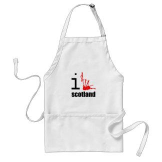 i-scotland_bagpipes standard apron