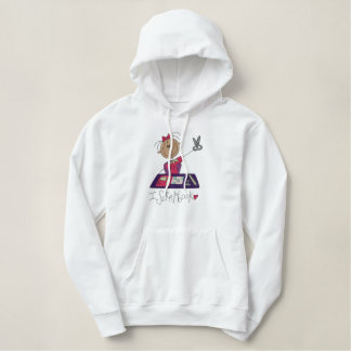 I Scrapbook Embroidered Hoodies