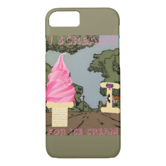 I Scream for Ice Cream iPhone 7 Case