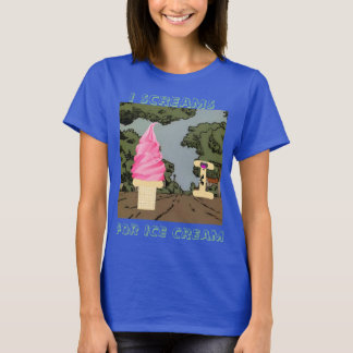 I Scream for Ice Cream T-Shirt