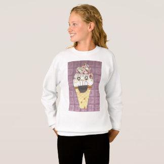 I Scream Girl's Jumper Sweatshirt