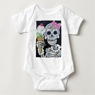 I SCREAM  ICE CREAM BABY BODYSUIT