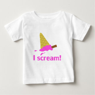 I SCREAM, ICE CREAM BABY T-Shirt