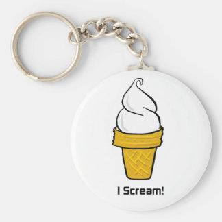 I Scream Keychains