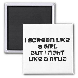 i scream like magnet ninja