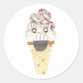 I Scream Stickers