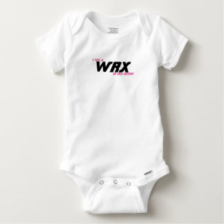I see a WRX in my future Baby Onesie