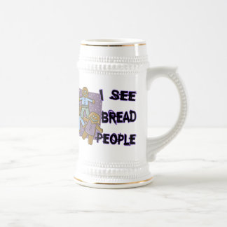 I See Bread People Beer Stein
