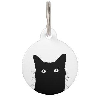 I See Cat Click to Select a Custom Color Pet Tag