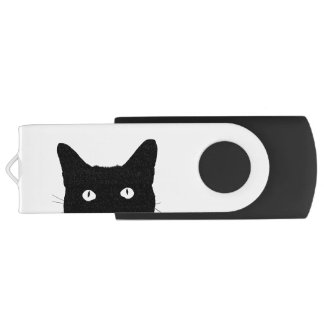 I See Cat Click to Select a Custom Color USB Flash Drive