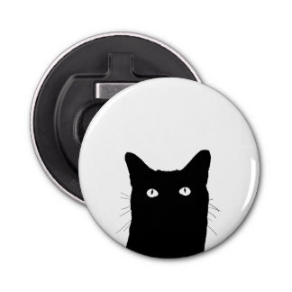 I See Cat Click to Select Your Color Decor Bottle Opener