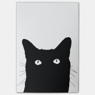I See Cat Click to Select Your Color Decor Option Post-it Notes