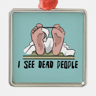 I See Dead People Ornament