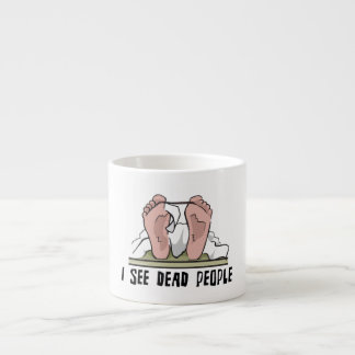 I See Dead People Espresso Cups