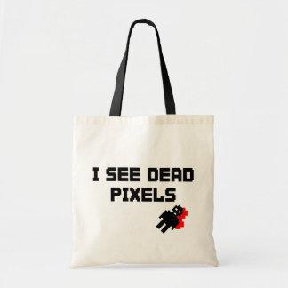 I See Dead Pixels Budget Tote Bag