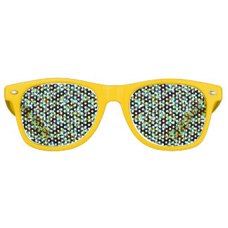 I see diamonds retro sunglasses